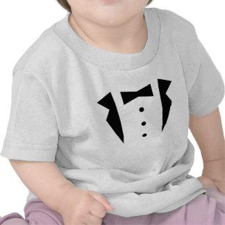 Stylish Little Gentleman Tuxedo With Black Bow Tie Shirt