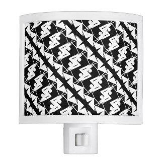 Stylish Mirrored Geometric & Abstract Pattern Nite Lite