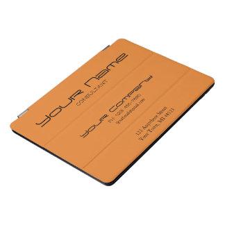 Stylish Modern 10.5 iPad case (orange/customize)