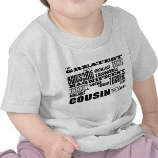 Stylish Modern Fun Cousins Greatest Cousin T Shirts