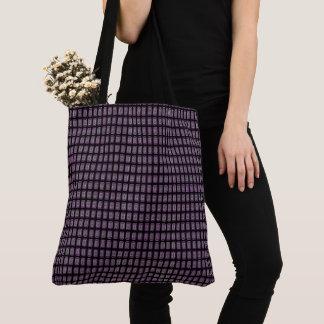 Stylish-Modern-Grape-Black-Shoulder-Bags-Totes Tote Bag