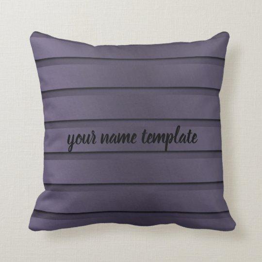 stylish, modern, treny text template pillow