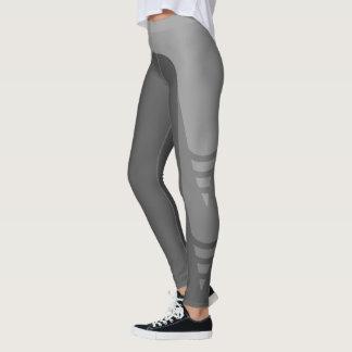 Stylish Monochrome Detail Pattern Leggings