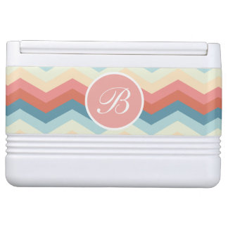 Stylish Monogram Designer Chevron