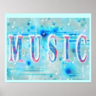 Stylish Music Poster