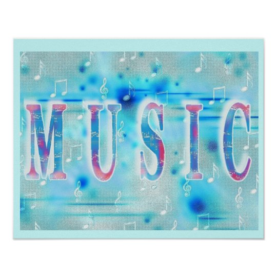 Stylish Music Poster