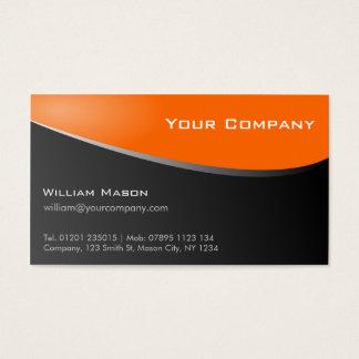 Stylish Orange, Company Business Card