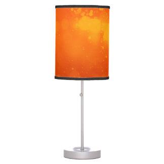Stylish Orange Sparkle Table Lamp