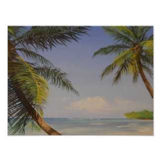 Stylish Palm Tree Poster