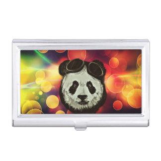 Stylish Panda Bear Business Card Case