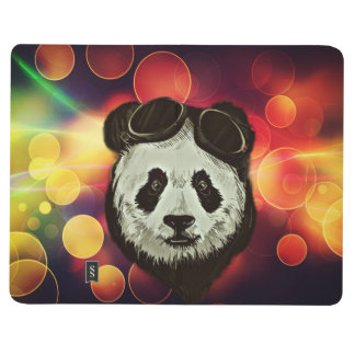 Stylish Panda Bear Journal