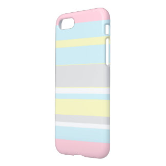 Stylish Pastel Colors Stripes IPhone 8/7 Case