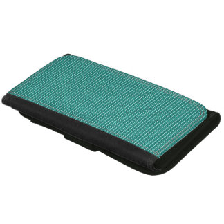 Stylish-Plaid's-Aqua-Wallet's-Multi-Styles Wallets For Women