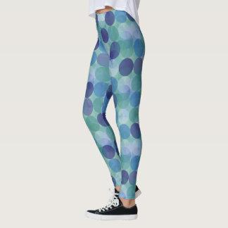 Stylish Polka Dot Design Leggings
