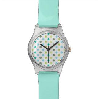 Stylish Polka Dot Wristwatch