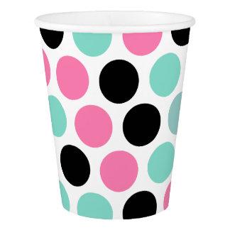 Stylish Polka Dots Pattern Paper Cup