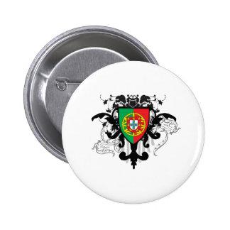 Stylish Portugal 2 Inch Round Button