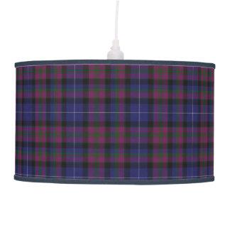 Stylish Pride of Scotland Tartan Plaid Pendant Lamp