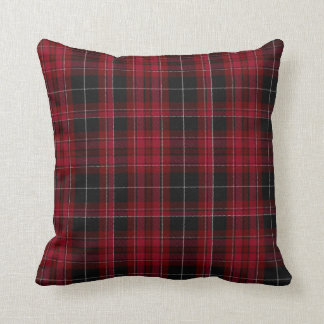 Stylish Pride of Wales Tartan Plaid Pillow