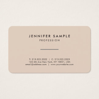 Stylish Professional Elegant Colors Modern Design Business Card