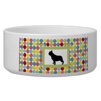 Stylish Puggle Dog Food Bowl