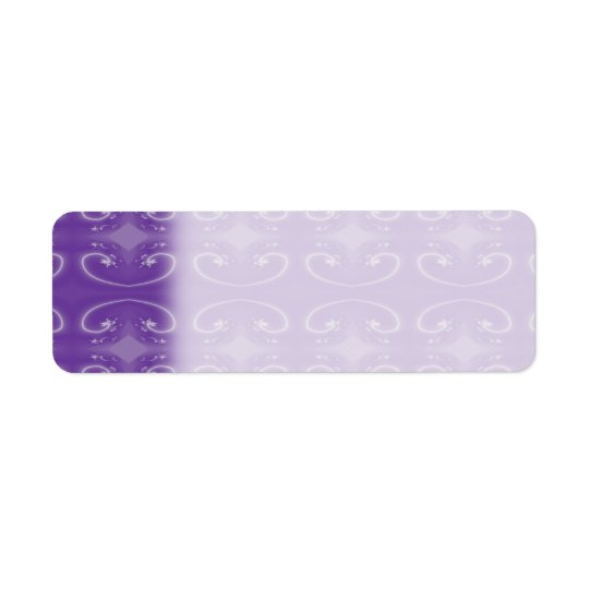 Stylish Purple Swirl Pattern.