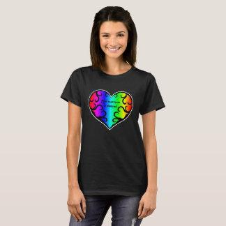 Stylish rainbow heart T-Shirt
