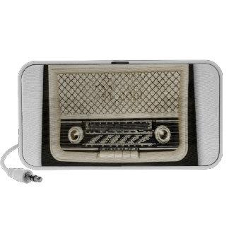 stylish retro radio speaker