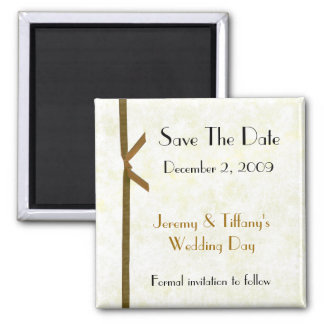 Stylish Save the Date Magnet