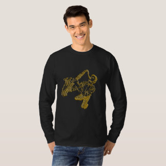 Stylish saxophonist T-Shirt