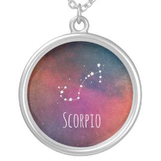 Stylish Scorpio Silver Plated Necklace
