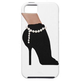 stylish silhouette beautiful woman shoes high heel iPhone 5 case