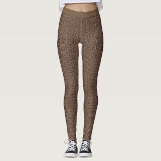 Stylish-Silk-Knit* Cocoa-Dreams(c)-XS-XL_Leggings_ Leggings