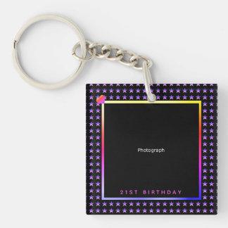 Stylish, Smart Stars with Template Keychain