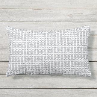 Stylish-Snuggles-Outdoor-Indoor-Mod-Oval-Blue Lumbar Pillow