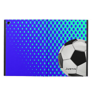 Stylish Soccer iPad Air Case with Stand