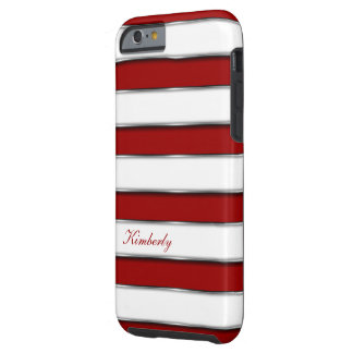 Stylish Stripes Style Tough iPhone 6 Case