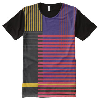 Stylish Suprematic pattern All-Over-Print T-Shirt