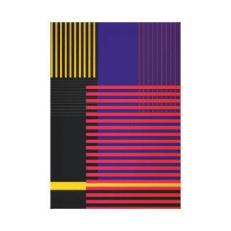 Stylish Suprematic pattern Canvas Print