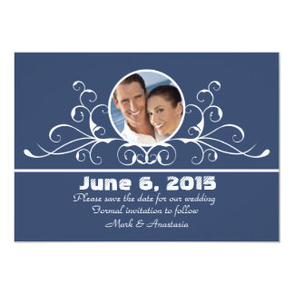Stylish Swag - Photo Save the Date Announcement