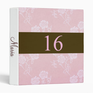 Stylish Sweet Sixteen Photo Memories Album 3 Ring Binder