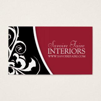 Stylish Swirl :: Business Card