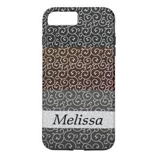 stylish swirl pattern /layers iPhone 8 plus/7 plus case