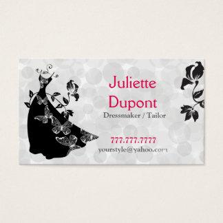 Custom Dressmaker Tailor Tailoring Business Cards | Zazzle.ca