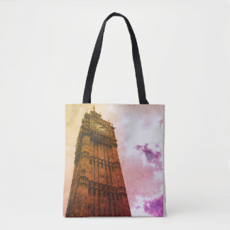 Stylish tote bag featuring the Big Ben clock tower