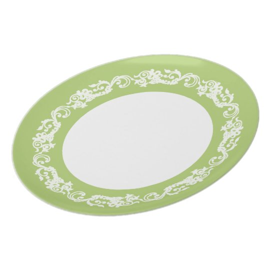 Stylish-Vintage(c) Lime & Lace--Everyday_Plates Plate