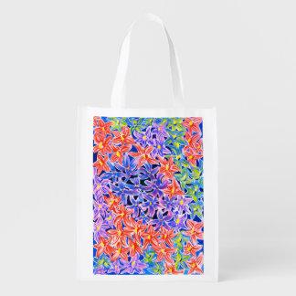Stylish Watercolour Floral Eco Reusable Bag