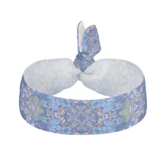 Stylish whimsical lux floral watercolor pattern hair tie
