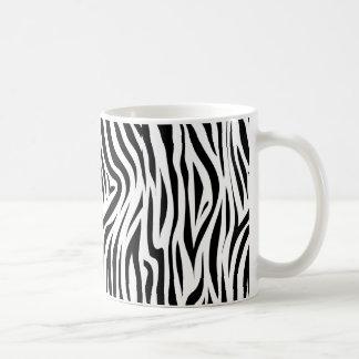 Stylish Zebra Print Animal Skin Coffee Mug