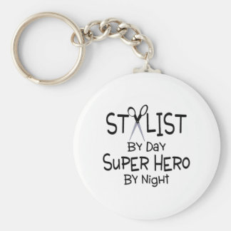 Stylist By Day Super Hero By Night Key Chains